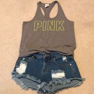 Pac Sun P.S. Erin Wasson distressed shorts size 25